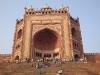 Mosque gateway.