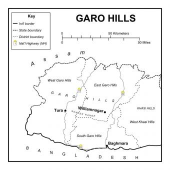 garo-hills-map