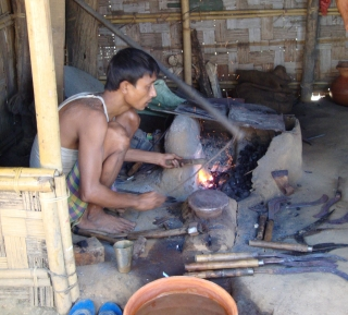 Modern blacksmith.