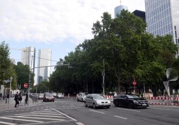 Frankfurt fortifications greenway