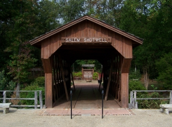 Reconstructed Salem-Shotwell Bridge