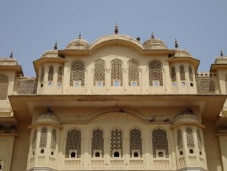 Rajput-style temple.