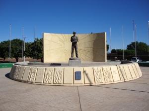 Norman E. Borlaug monument
