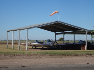 Agricultural airfield