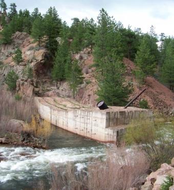 Chimney Rock Dam