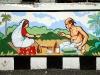Guwahati wall painting.