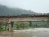 Jinari River bridge.