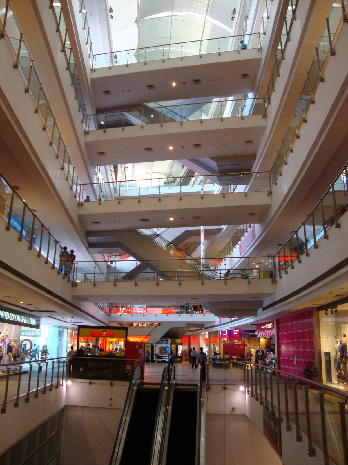 Pink Square Mall.