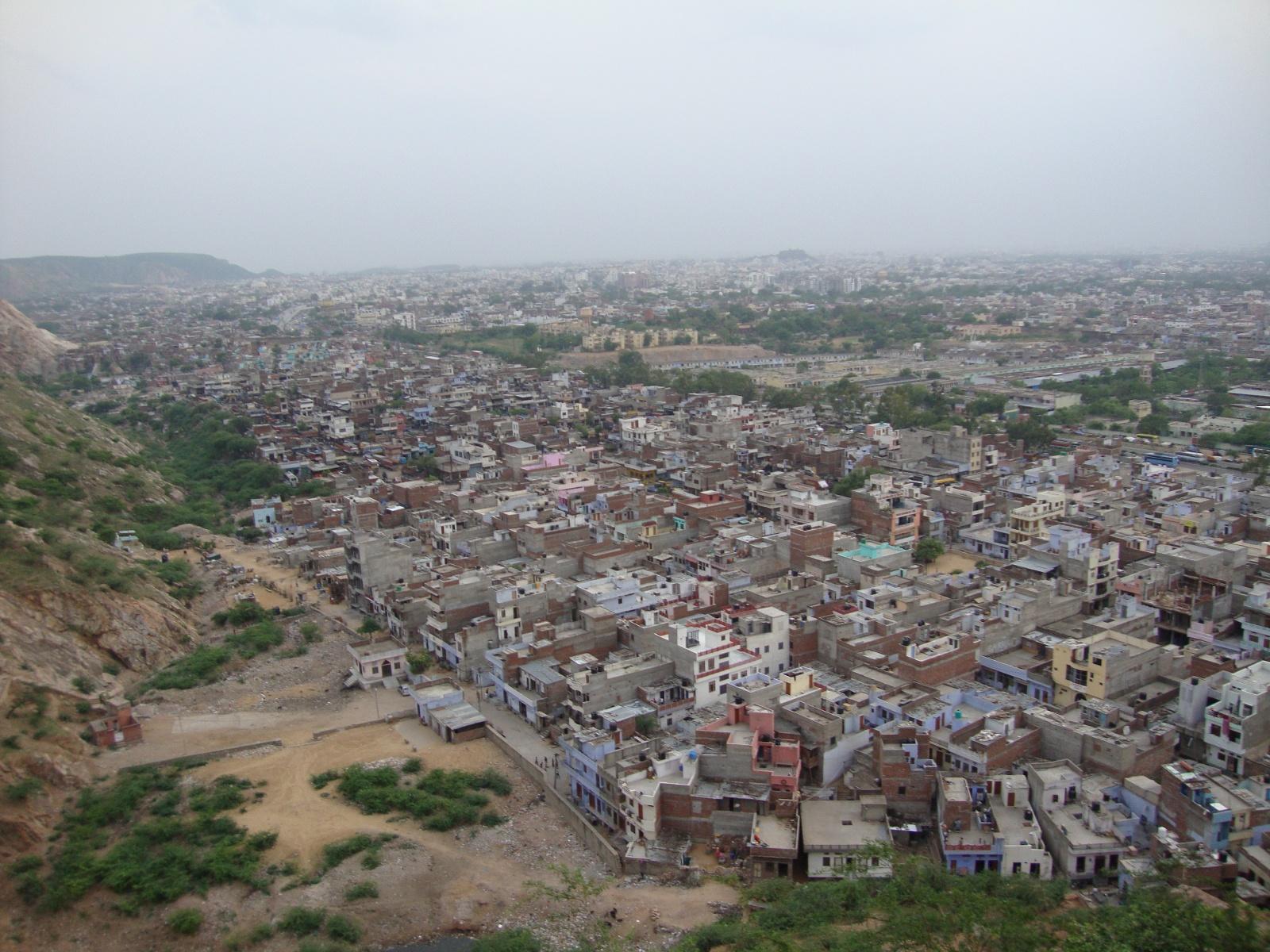 Jaipur sprawl.