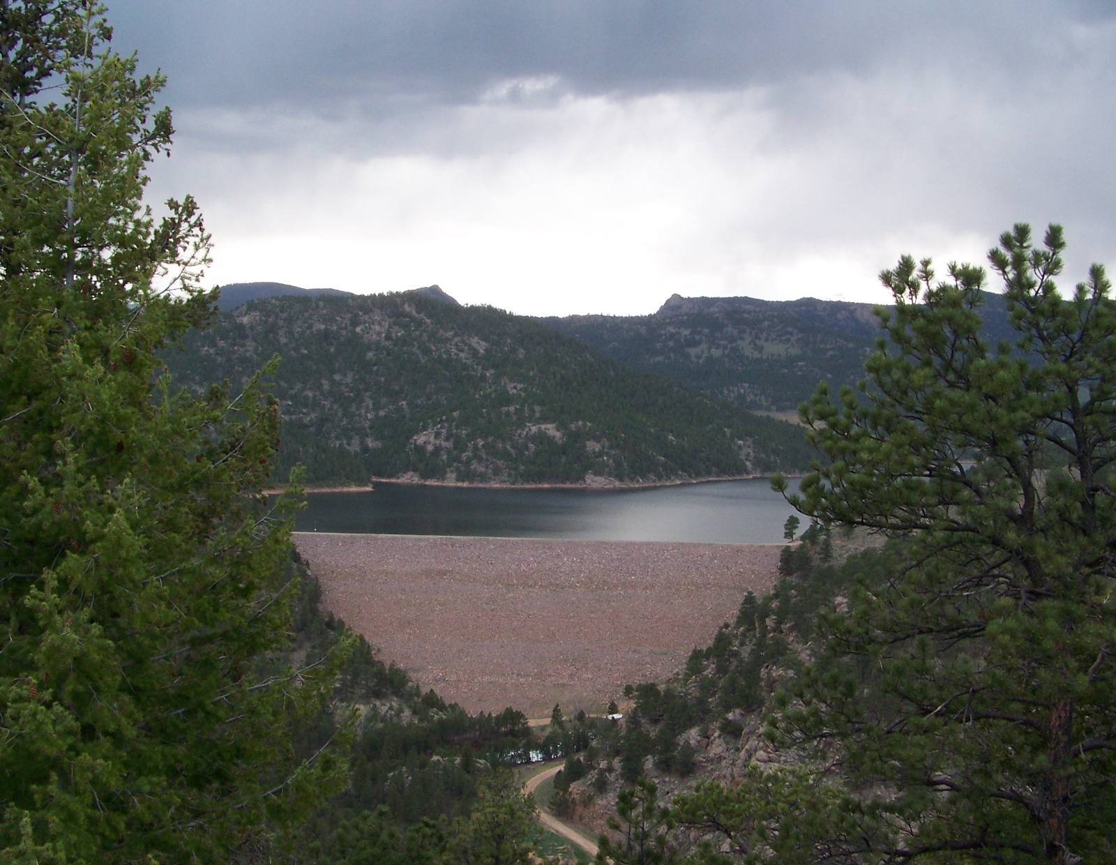 Button Rock Dam and Ralph Price Reservoir