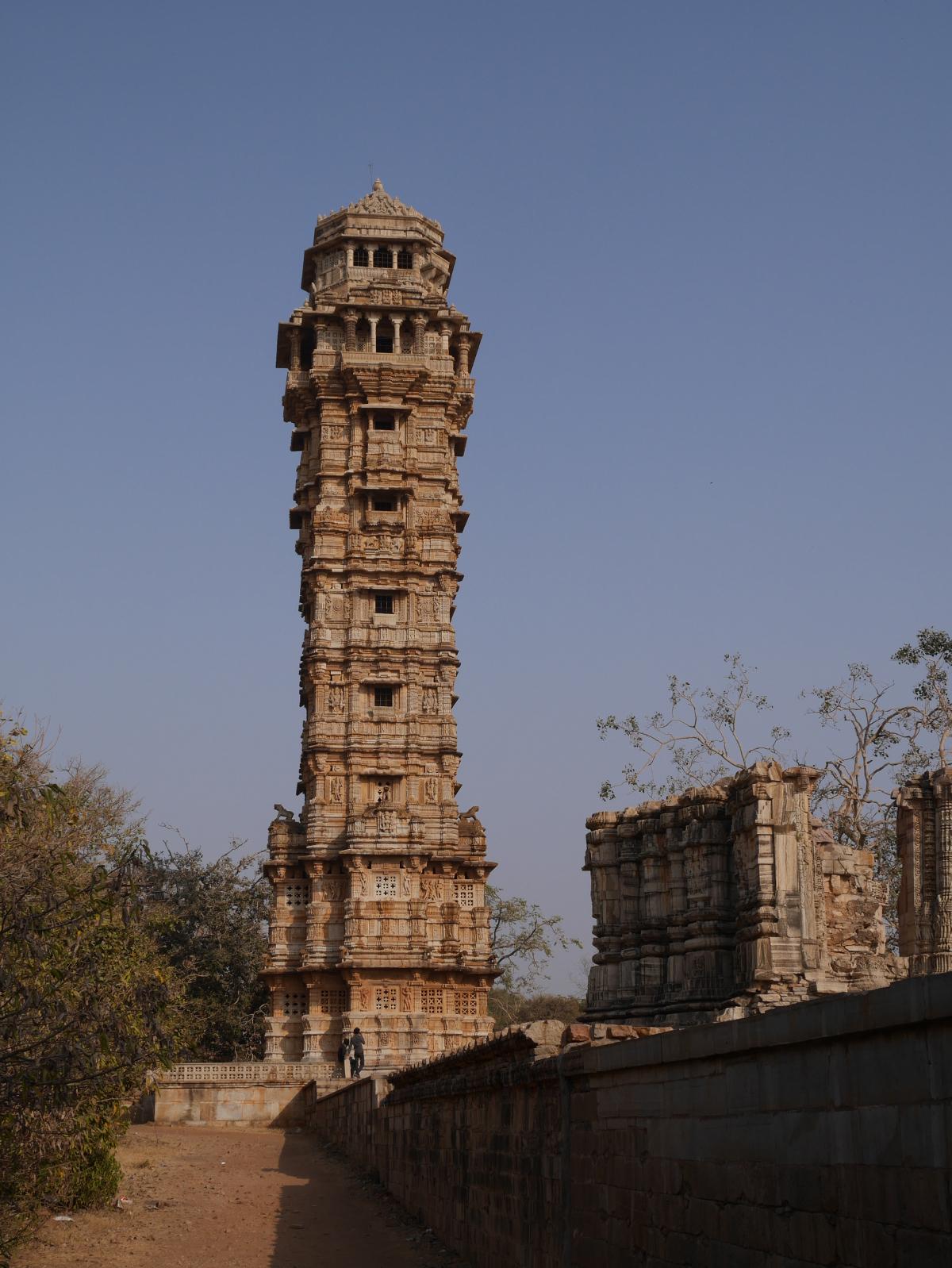 Vijay Stambh (Tower of Victory), Chittaurgarh.