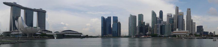 Marina Bay panorama.