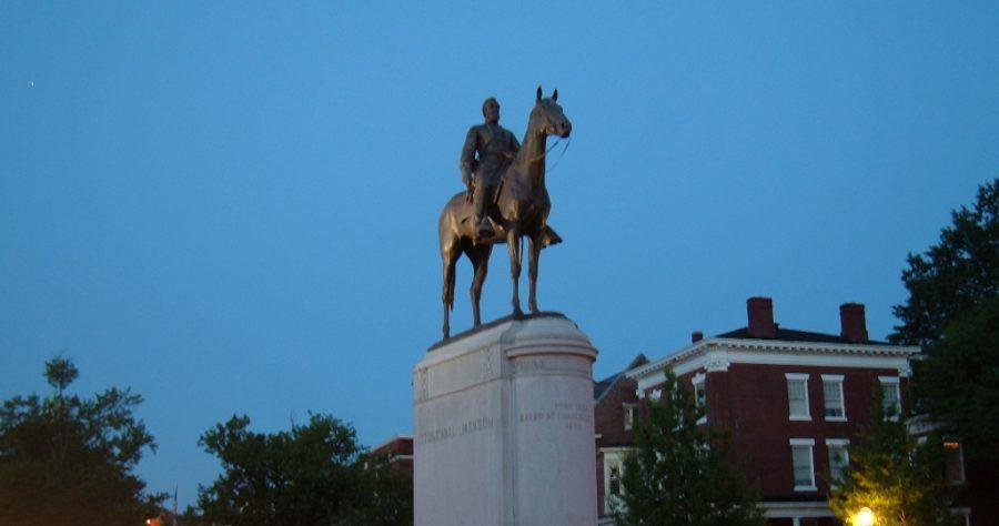 Stonewall Jackson statue, Richmond.