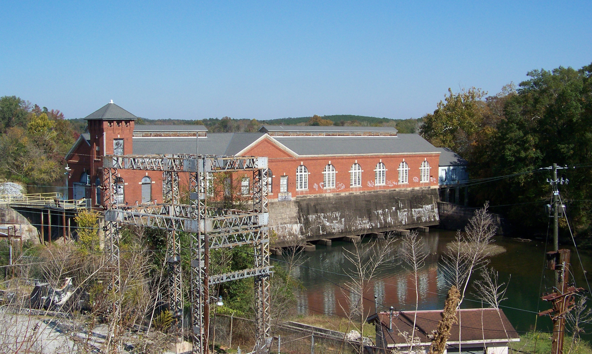 Langdale Mill in Valley, Alabama