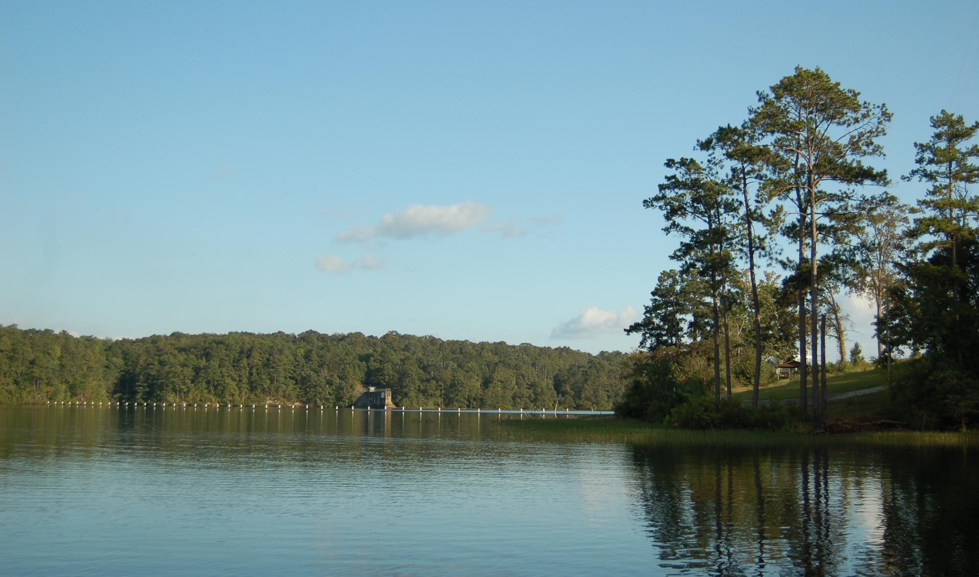 Yates Dam lake