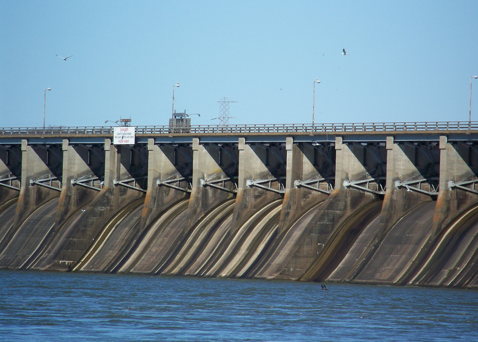 Wheeler Dam spillways